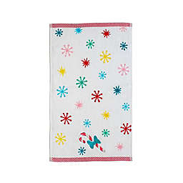 Disney® Fa La La Fingertip Towel in White