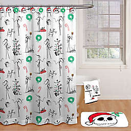 Disney® Nightmare Before Christmas 70-Inch by 72-Inch Shower Curtain with Hooks