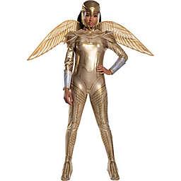 Wonder Woman Armor Adult Halloween Costume in Gold