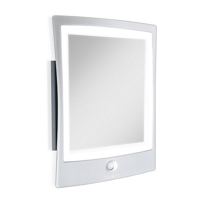 Alternate image 1 for Haven™ 9-Inch x 7-Inch Rectangular Fogless LED Shaving Mirror in White