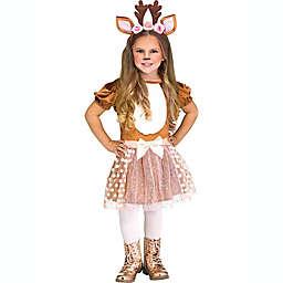 Darlin' Deer Toddler Girl's Halloween Costume in Brown