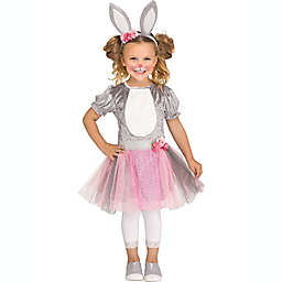 Honey Bunny Toddler Girl's Halloween Costume in Grey