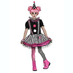 Pinkie the Clown Child's Halloween Costume in Black/Pink