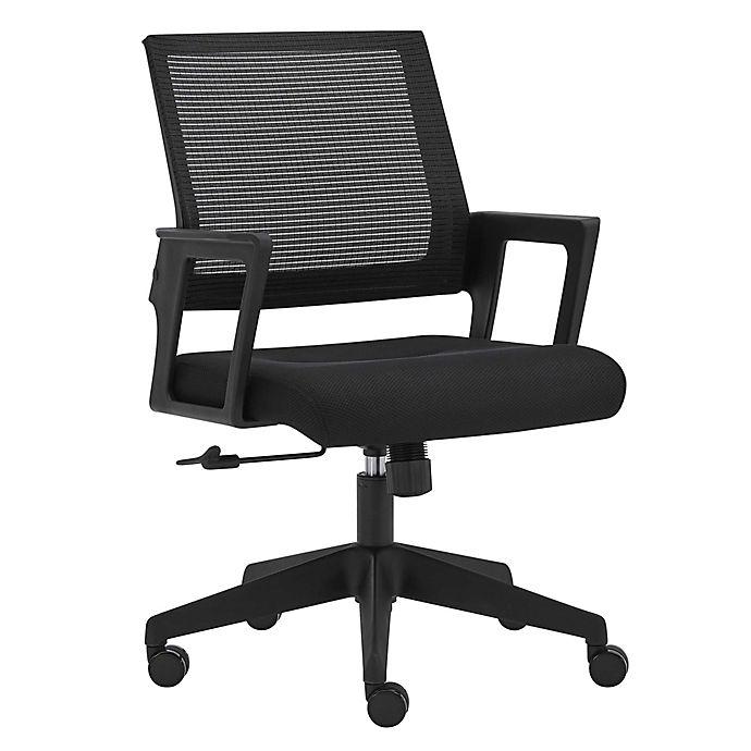 Alternate image 1 for HomeRootsMesh Office Chair in Black