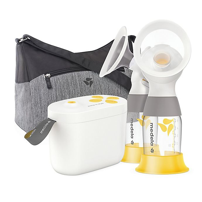 Alternate image 1 for Medela® Pump in Style® Breast Pump with MaxFlow™ and PersonalFit Flex™ Breast Shields