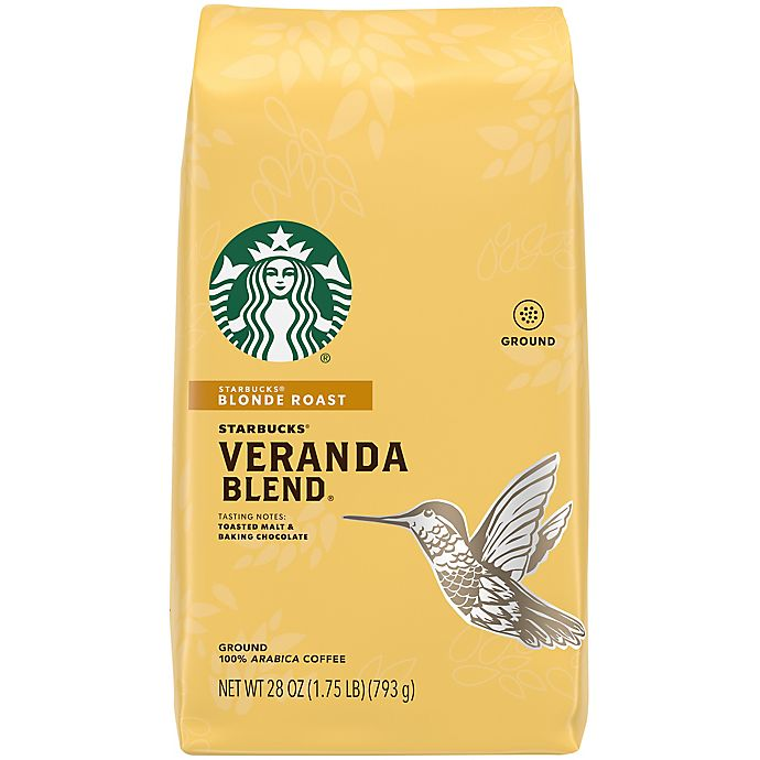 Alternate image 1 for Starbucks® 28 oz. Veranda Ground Coffee