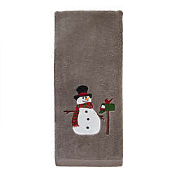 Snowman Mailbox Hand Towels (Set of 2)