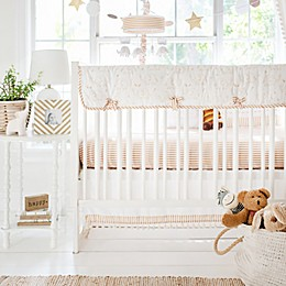 My Baby Sam Heart of Gold Crib Bedding Collection