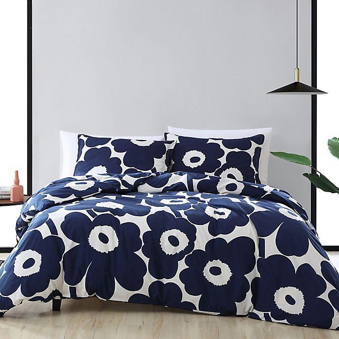 Alternate image 1 for marimekko® Unikko 3-Piece Duvet Cover Set