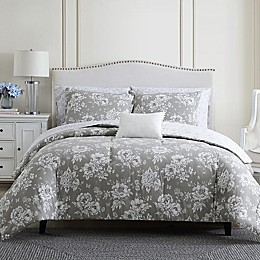 Stone Cottage® Katherine 3-Piece Reversible Comforter Set in Grey