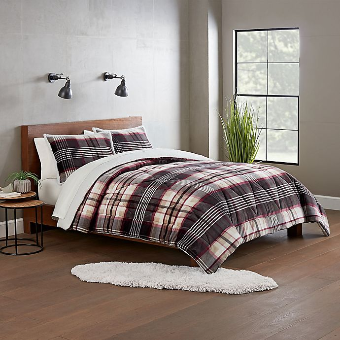 Alternate image 1 for UGG® Avery 3-Piece Reversible Queen Comforter Set in Winter Plaid