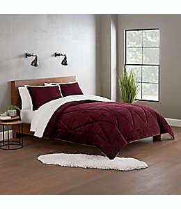 Juego de edredón king reversible UGG® Avery color cabernet