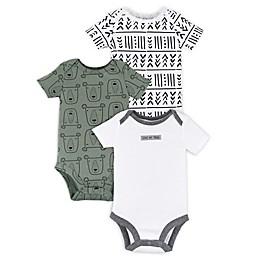 Lamaze® 3-Pack Tribe Organic Cotton Short Sleeve Bodysuits