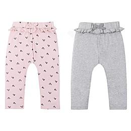 Lamaze® 2-Pack Heart Organic Cotton Pants in Pink/Grey