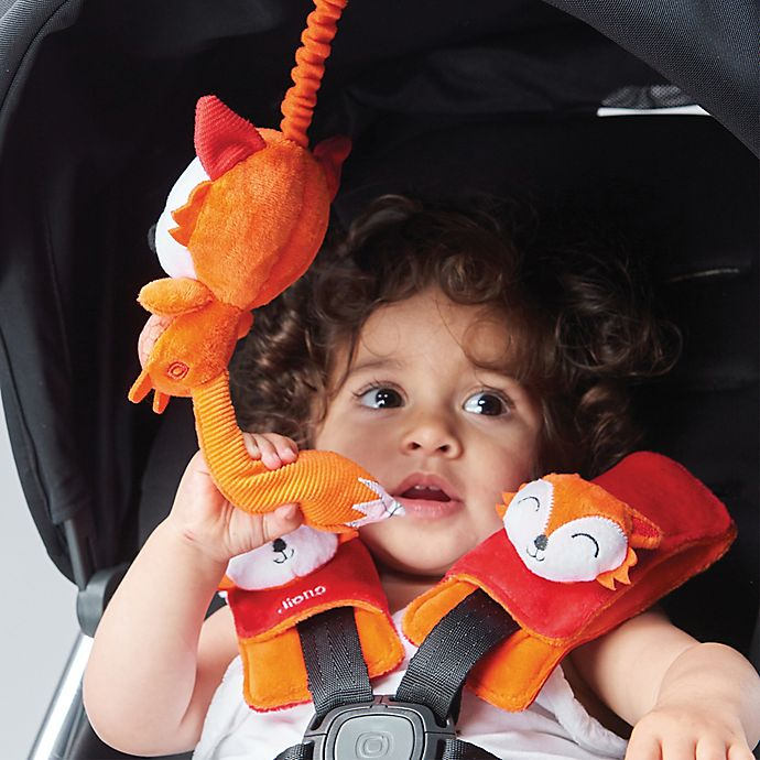 Alternate image 1 for Diono Baby Soft Wraps and Toy, Fox