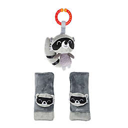Diono Baby Soft Wraps and Toy, Racoon