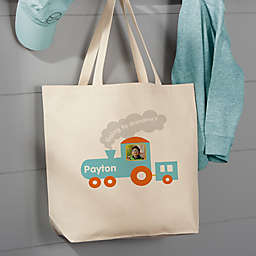 Sleep Over 20-Inch Cotton Canvas Tote Bag