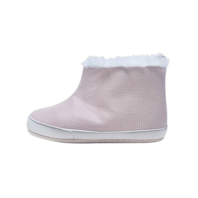 Alternate image 1 for ro + me by Robeez® Ryan Cozie Boot in Pink
