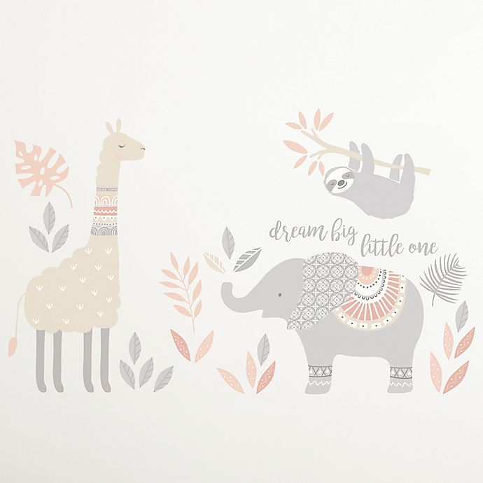 Levtex Baby Imani Dream Big Little One Elephant Wall Decals Set Of 2 Bed Bath Beyond
