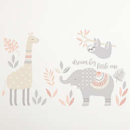 """Levtex Baby® Imani """"Dream Big Little One"""" Elephant Wall Decals (Set of 2)"""