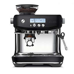 Breville® Barista Pro™ Stainless Steel Espresso Maker in Black Truffle