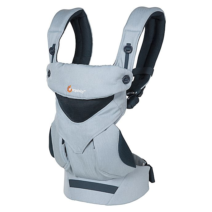 Alternate image 1 for Ergobaby™ Omni 360 Cool Air Mesh Baby Carrier in Chambray