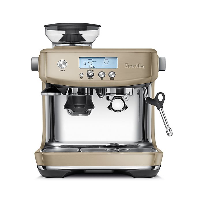 Alternate image 1 for Breville® Barista Pro™ Stainless Steel Espresso Maker in Royal Champagne