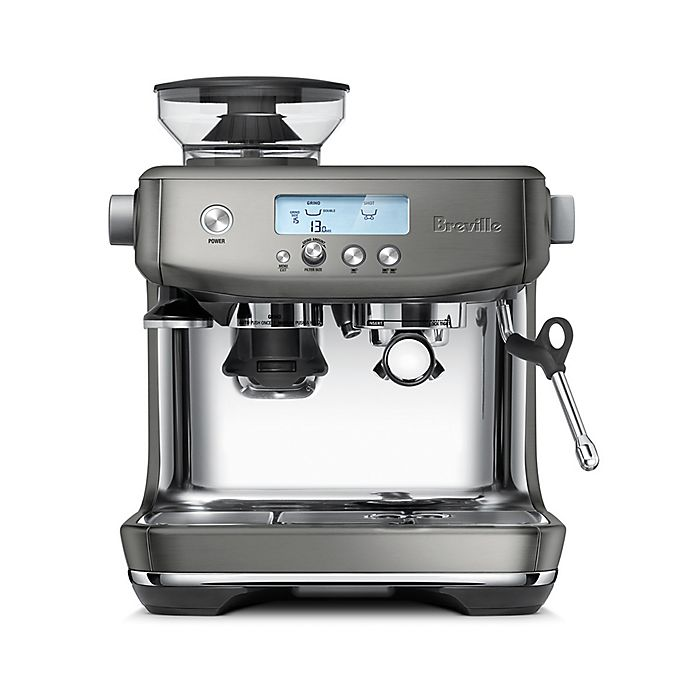 Alternate image 1 for Breville® Barista Pro™ Stainless Steel Espresso Maker in Smoked Hickory