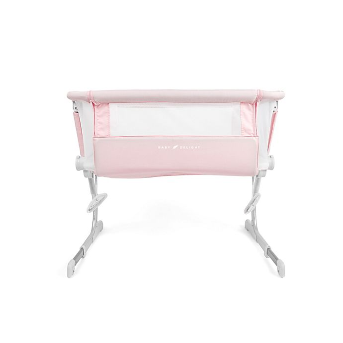 Alternate image 1 for Baby Delight® Beside Me™ Dreamer Bassinet & Bedside Sleeper in Peony Pink