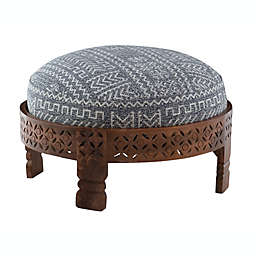 Powell Tristan Ottoman in Brown