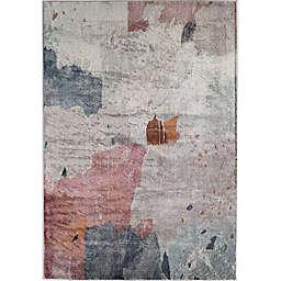 CosmoLiving Celine Water Colors Area Rug in Grey