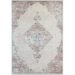 CosmoLiving Hailey Amaranth Area Rug in Pink