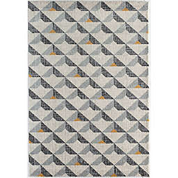 CosmoLiving Kaia Area Rug in Grey