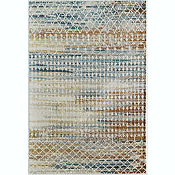 CosmoLiving Taylor Tribal Harvest 6' x 9' Area Rug in Ivory