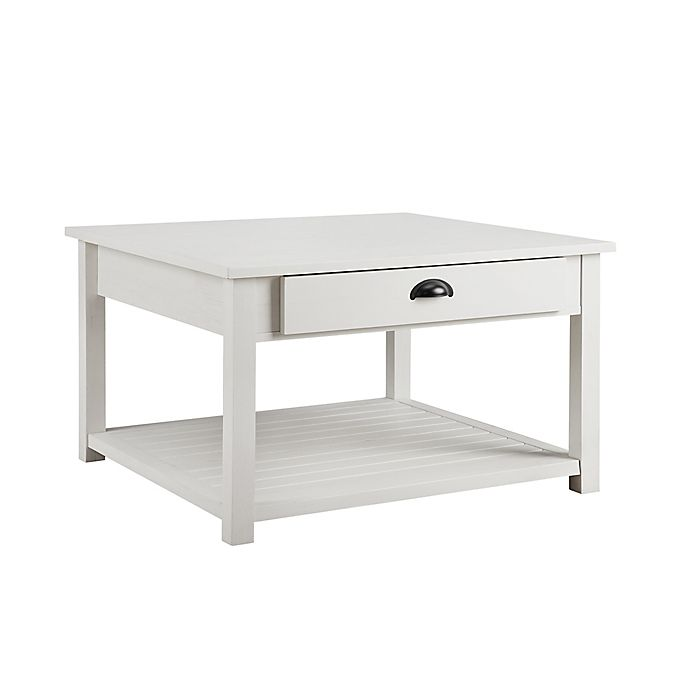 Alternate image 1 for Forest Gate™ 30-Inch Square Coffee Table