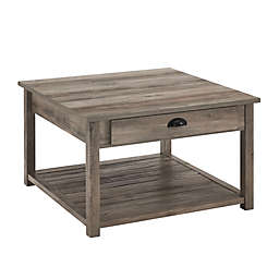 Forest Gate™ 30-Inch Square Coffee Table in Grey Wash