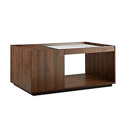 Forest Gate Storage Coffee Table in Dark Walnut