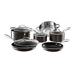 Gotham™ Steel Diamond Platinum Nonstick Cast Aluminum 10-Piece Cookware Set