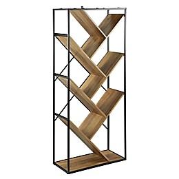 Forest Gate™ 68-Inch V-Shelf Bookcase
