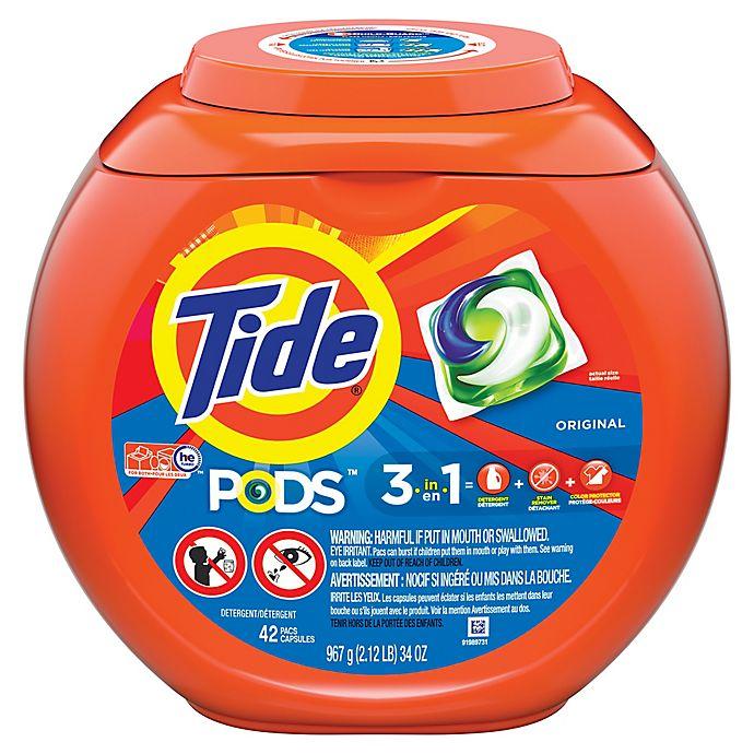 Alternate image 1 for Tide® PODS 42-Count Laundry Detergent in Original