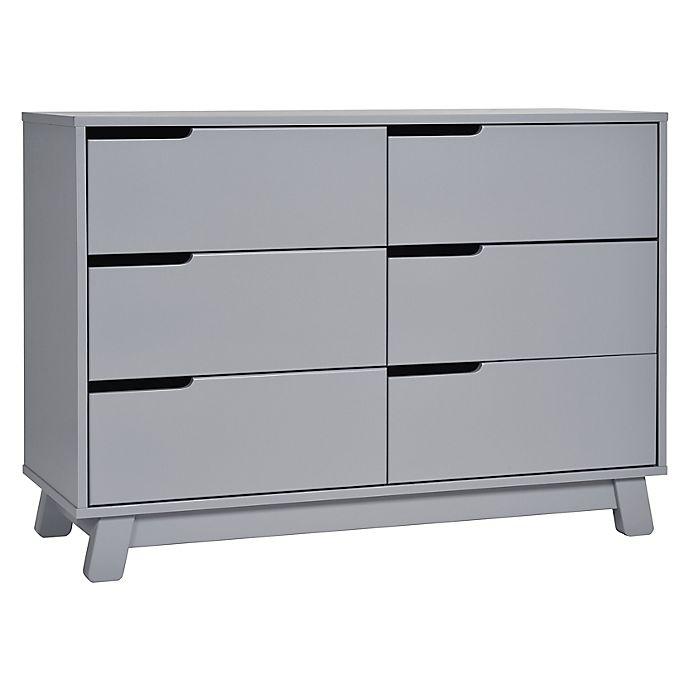 Alternate image 1 for Babyletto Hudson 6-Drawer Double Dresser