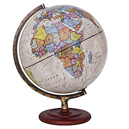 Ambassador 12-Inch Desk Globe in Bronze