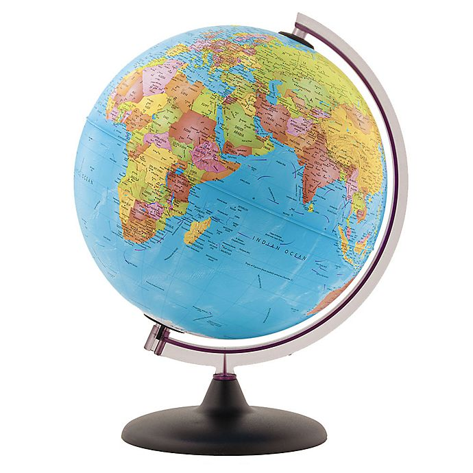 Alternate image 1 for Little Adventurer Educational Desk Globe in Blue
