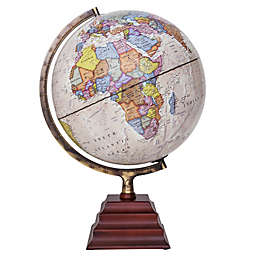 Waypoint Geographic Peninsula II Illuminated Desk Globe in Bronze