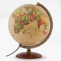 Waypoint Geographic Como Illuminated Desk Globe in Gold