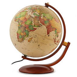 Waypoint Geographic Andorra Illuminated Desk Globe in Gold