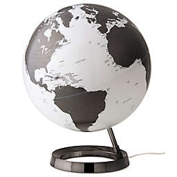 Waypoint Geographic Light and Color Designer Desk Globe in Charcoal