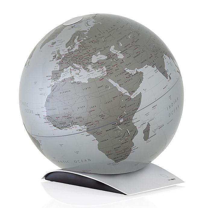Alternate image 1 for Waypoint Geographic Capital Q Illuminated Desk Globe