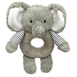 carter's® Elephant Ring Rattle in Grey
