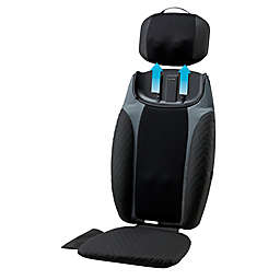 HoMedics® 2-in-1 Shiatsu Massaging Seat Topper with Removeable Massage Pillow